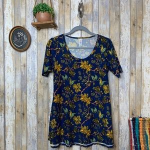 Lularoe Floral Patterned Tunic